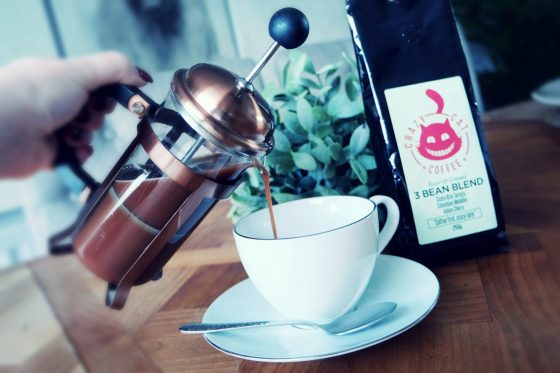 Ground Filter coffee from Crazy Cat Coffee Ltd