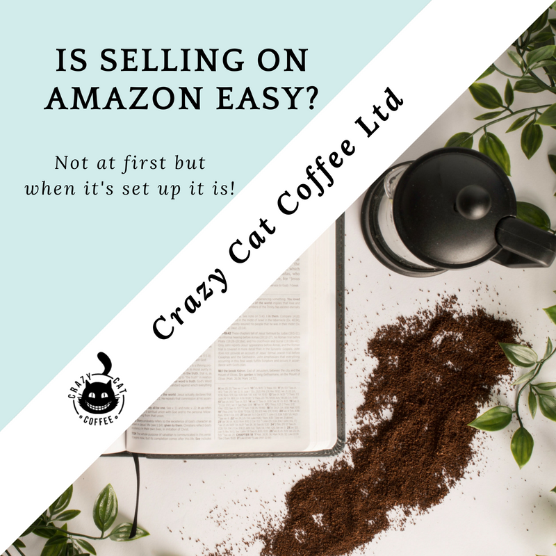Selling coffee on amazon